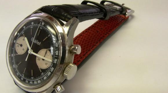 時計 革バンド 作成 GALLET ギャレット 修理 (腕時計) 革バンド作製 風景