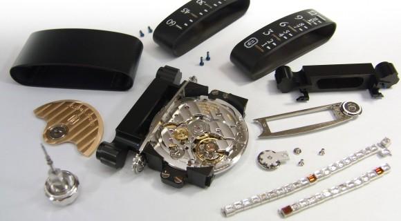 ハリー・ウィンストン オーパス9 時計 修理 (腕時計 修理)分解掃除(OH) 風景